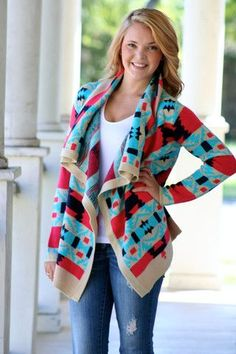 a105c79eb2 The Dirt Road · Cozy Aztec Sweater as seen on Emily Maynard Aztec Cardigan