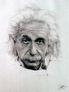 charcoal pencil drawings - Google Search Albert Einstein