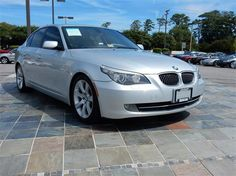 2009 BMW 535I  81733 miles, Silver exterior color with a Gray interior, 3.0L L6 FI DOHC 24V Engine, Automatic Transmission