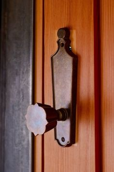 Quatrefoil, Doorknob, Phi Mu, Every Phi Mu house/lodge should get one of these.