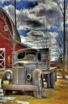 Forgotten Old Truck