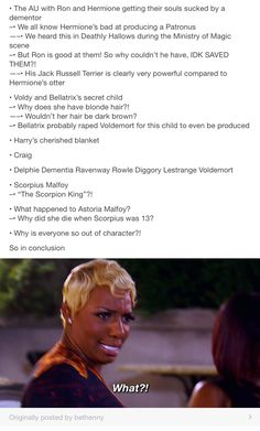 Rape tw, Harry Potter and the cursed child is a mess part 1/2 // Harry Potter, hp, Astoria greengrass, voldemort, Tom riddle, Draco Malfoy, Lucius Malfoy, scorpius Malfoy, scorpious malfoy, albus Severus potter, Ron Weasley, Padma Patil, Dolores umbridge, Severus snape, Cedric diggory, cho Chang, Neville longbottom, nagini, hermione granger, Ron Weasley, Bellatrix lestrange, delphie lestrange