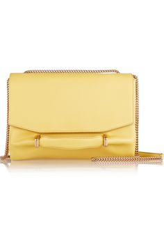NINA RICCI, Marché Chaine leather and suede shoulder bag, was $1575, now $693 From The Outnet