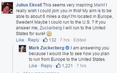 """A Year of Running"" cu Mark Zuckerberg"