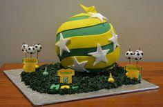 Socceroos Soccerball cake