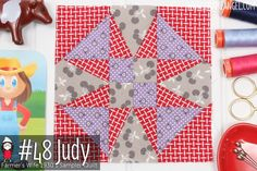 Farmer's Wife 1930's Sampler Quilt - Learn to make the blocks with Angie Wilson of GnomeAngel.com