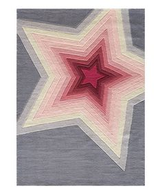 Take a look at this Superstar Rug by Lil Mo by Momeni Rugs on #zulily today!