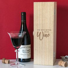 Just in: Age Gets Better With Wine Box Alcohol Quote Gift  http://www.blueponystyle.com/products/age-gets-better-with-wine-box-alcohol-quote-gift?utm_campaign=crowdfire&utm_content=crowdfire&utm_medium=social&utm_source=pinterest