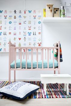 Storebror Collectie - love the poster, the bed, that carpet