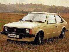 Vauxhall Astra E, 1980