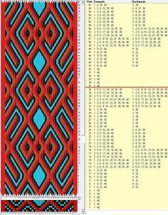 40 tarjetas hexagonales, 5 colores, repite cada 36 movimientos // sed_507_c6 diseñado en GTT༺❁