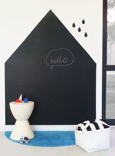kindergarten blackboard