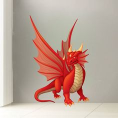 Dragon Decals Dragon Murals Dragon Wall Decals by PrimeDecal