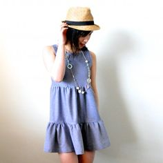 Sew your very own three tiered dress with this tutorial. Sweet and casual, perfect for summer!