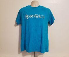 RosenWald Adult Medium Blue T-Shirt #Gildan #BasicTee