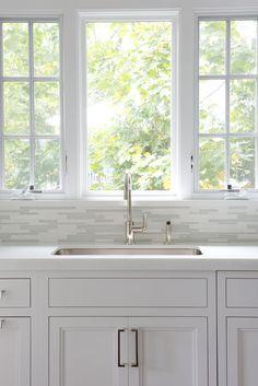 Faucet & backsplash; Laura Tutun Interiors