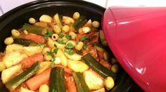 Ellouisa: Tajine met vlees en groenten - in mijn nieuwe taji...