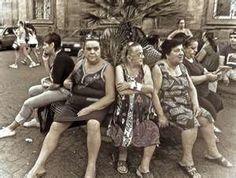 Italian women  I think this is from my family album  ha