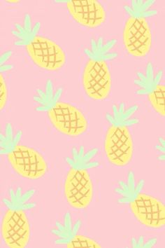 Pineapple Wallpaper on sassy lettering