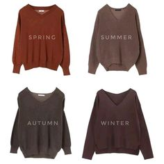Light Spring Palette, Deep Winter Palette, Deep Winter Colors, Spring Color Palette, Seasonal Color Analysis, Brown Outfit, Color Me Beautiful, Warm Autumn, Soft Summer