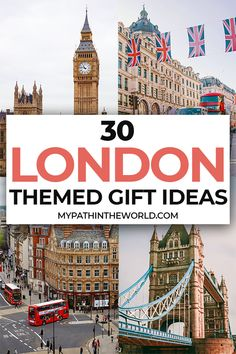 Looking for the best ideas for gifts for London lovers? Here are 30 incredible London themed gifts any anglophile will love! Packing List For Travel, Europe Travel Tips, Travel Destinations, Packing Lists, Travel Goals, European Travel, Travel Guide, London England Travel, London Travel