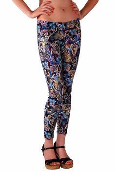 RedHotBest Paisley Pattern Fashion Tight - Şal Desenli Tayt, ModaBizde.com Şimdi 43,90TL yerine sadece 12,99TL