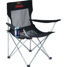 Go with a lightweight and durable chair that's great for camping, tailgating and promoting your brand. Each 600 denier polycanvas and Air Mesh chair features a breathable mesh fabric that keeps users cool and comfortable as well as armrests with built-in cupholders. The chair folds and fits into a convenient carrying case with a strap. Customize this product with an imprint of your company name and logo for excellent brand awareness. Order now!