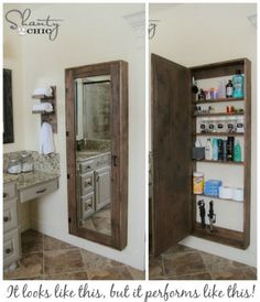 DIY Clever Storage Ideas : 15 Bathroom Organization and Creative Storage Ideas - Diy Craft Ideas & Gardening