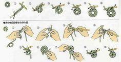 Полезные советы по вязанию крючком и спицами:виды петель,прибавление,убавление,набор петли,узоры.