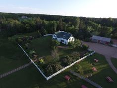 Green Gables aerial view, photo by Evan Milewski