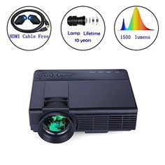 in the picture:Video Projector, Dinlly Mini Projector with HDMI Cable Support Full HD 3D Home Theatre and Outdoor Indoor Movies Smartphone with MHL Thread lots of color options – get more info:https://www.amazon.com/dp/B075KH2TR5    Whenever it comes to good and very affordable product, you r...