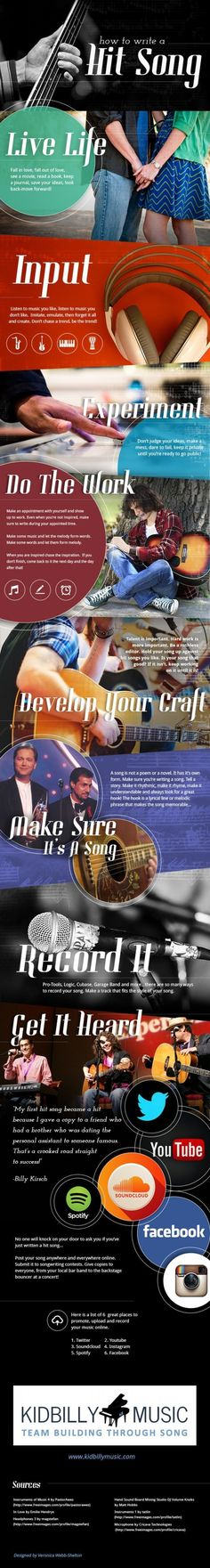 How to write a hit song.