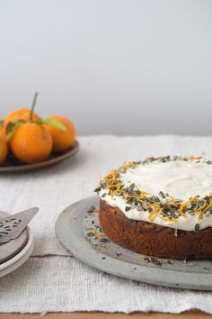 Spiced Carrot & Orange Cake | HOMEGROWN KITCHEN