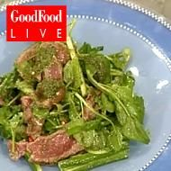 Thai salads are a delicious combination of flavours and textures, as Simon Rimmer's quick and simple recipe amply demonstrates Thai Beef Salad, Thai Salads, Good Food Channel, Yams, Salad Recipes, Food To Make, Easy Meals, Foods, People