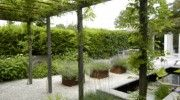 This pergola could be great in metal