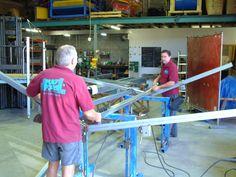manufacturing a swing set Workshop, Atelier, Work Shop Garage
