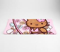 Travel and bathe in style. Hello Kitty XL Beach Towel: Suntan #HelloBaby