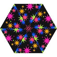 Colorful stars pattern Umbrella