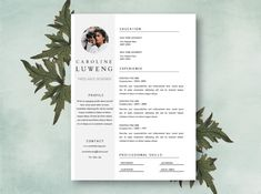 resume cover letter template resume template word by focvs