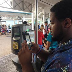 @SeaWorld no longer uses the fingerprint scanners. They do it by picture now and have a device to scan your pass.