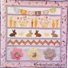 One Sweet Spring! Spring Quilt Wall Hanging