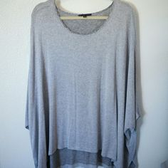 Truly Deeply Madly top (Urban Outfitters) Sort of an oversized poncho styled top. Hardly worn. Truly Deeply Madly Tops