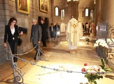 Final resting places for Princess Grace and Prince Rainier, St Nicholas Cathedral