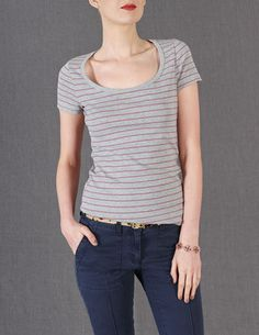 Essential Short Sleeve Tee from Boden ($18)