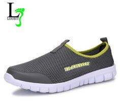 Casual Mens Mesh Breathable Loafers Footwear
