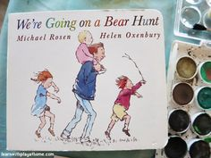 """""""We're Going on a Bear Hunt"""" inspired Activities"""
