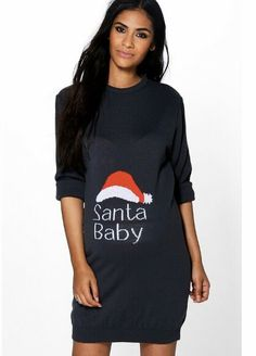 Off was now Maternity Santa Baby Christmas Dress Maternity Christmas Jumper, Baby Christmas Jumper, Christmas Sweater Dress, Christmas Jumpers, Christmas Sweaters, Cheap Maternity Clothes, Cute Maternity Outfits, Maternity Dresses, Fall Maternity