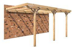 Een houten afdak in de tuin bouwen? Met behulp van Prefab bouwpakketten en een handleiding kun je voordelig en eenvoudig een houten afdak zelf maken.