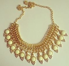 accessoryFIX: Ivory Dust Necklace Set $12.50 Complimentary US Shipping www.popofchic.com
