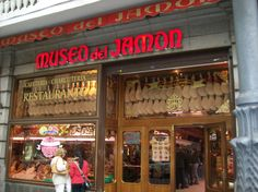 Museo del Jamon, a must in Madrid,  Spain
